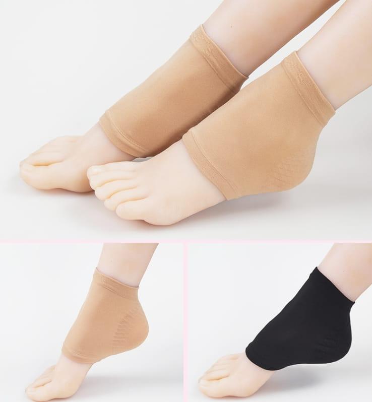 日夜間保濕防乾裂護足套(雙) 男女款腳後跟護足襪套 5