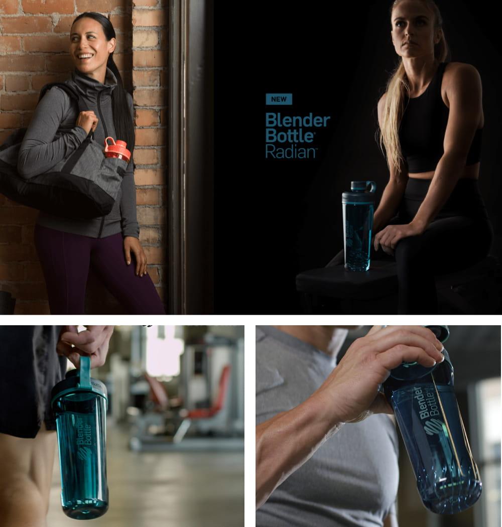 【Blender Bottle】Radian系列|雙壁不鏽鋼|時尚搖搖杯|26oz|7色 8