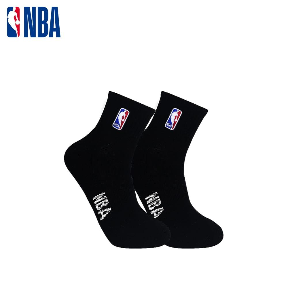 【NBA】 經典刺繡束腳底網眼毛圈短襪 2