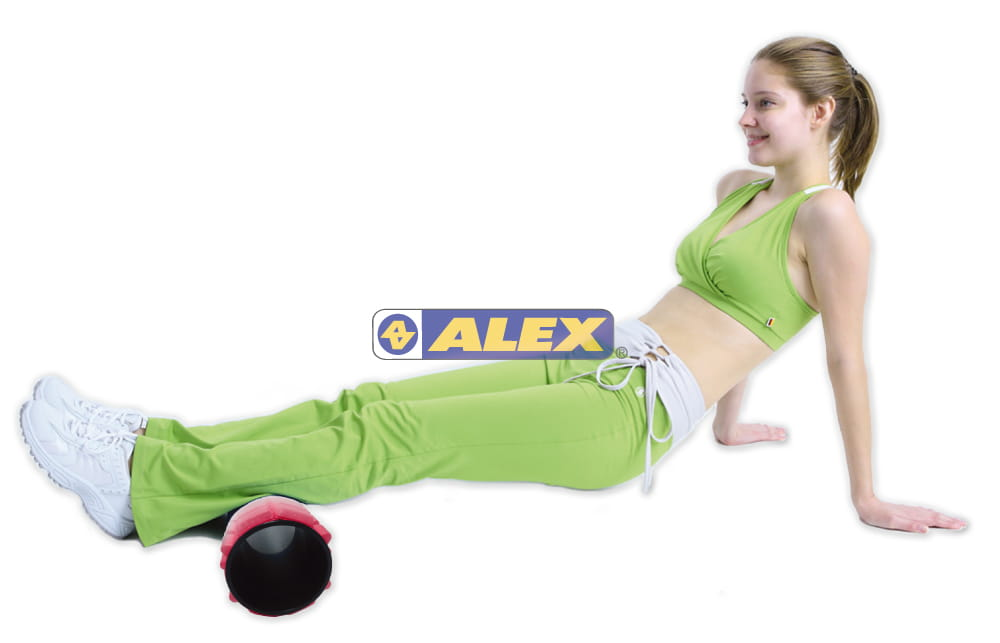 【ALEX】多功能瑜珈滾筒 按摩滾輪  瑜珈柱 3