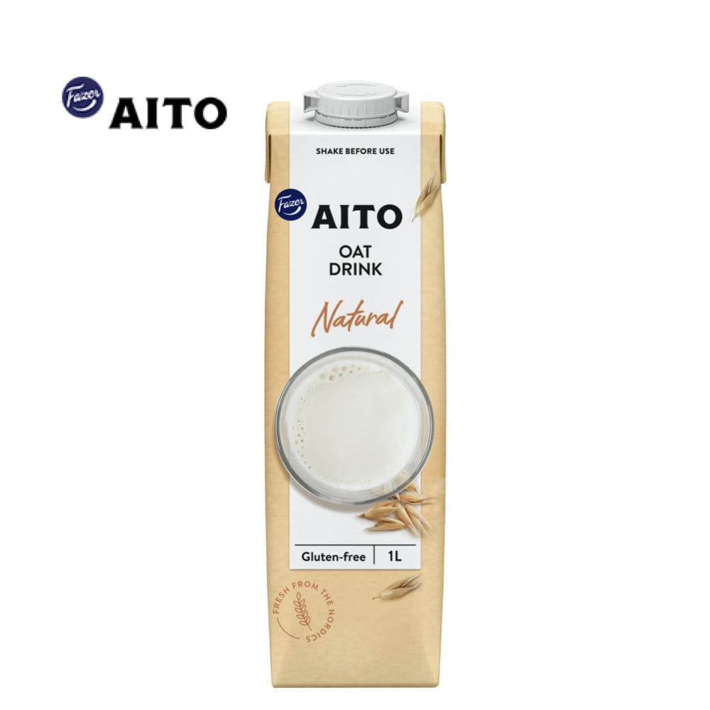 【芬蘭 AITO】天然原味燕麥奶 /咖啡師燕麥奶 (無乳糖/全素植物奶) 0
