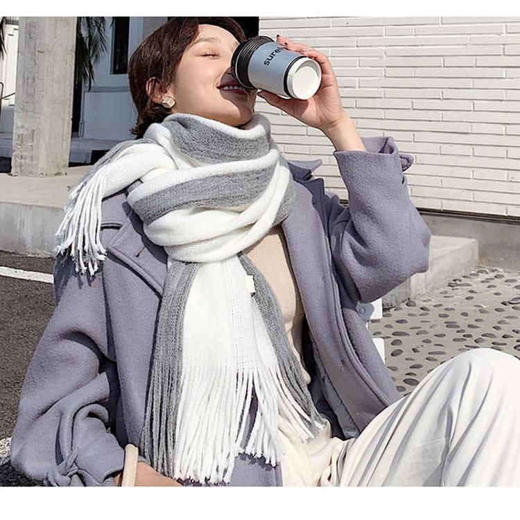 【JAR嚴選】時尚秋冬必備韓版情侶款保暖圍巾 1