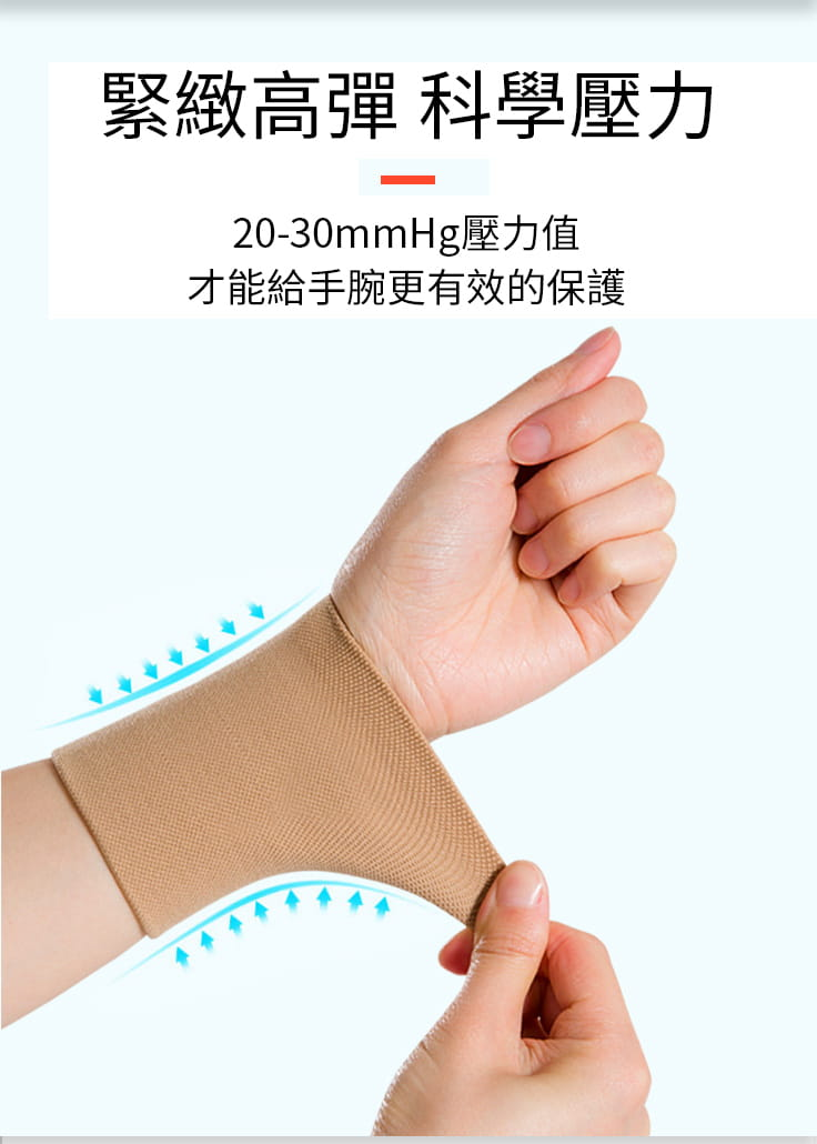 護腕女扭傷薄款腕帶保暖手腕腱鞘關節男運動ins潮手腕疼勞損護套 3