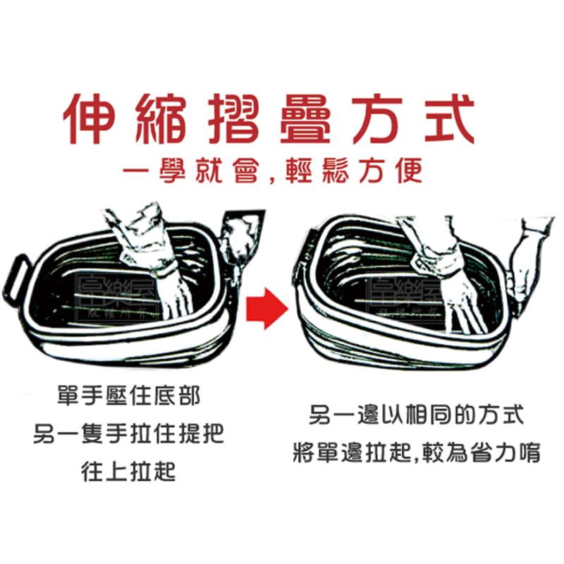 【寶貝媽】多功能伸縮萬用箱 (3入1組) 4