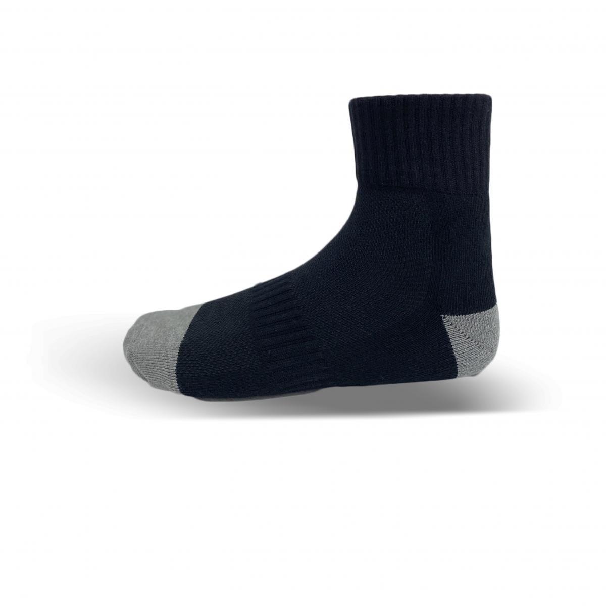 奈米竹炭厚底短襪(白) 2
