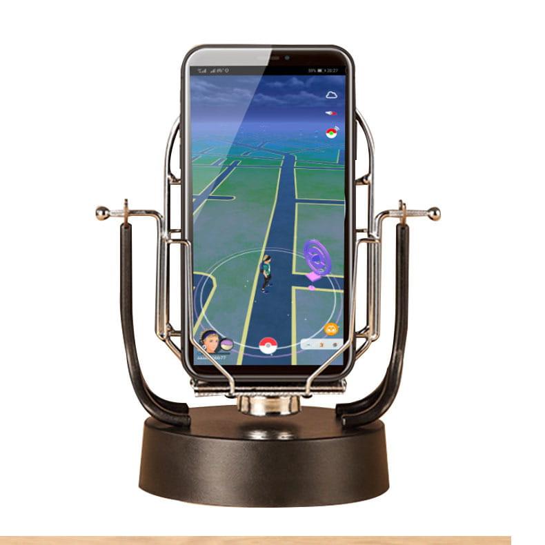 寶可夢搖步器二代 寶可夢刷步機雙手機 雙手機版本 搖步器 金屬支架升級 0