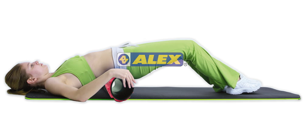 【ALEX】多功能瑜珈滾筒 按摩滾輪  瑜珈柱 6