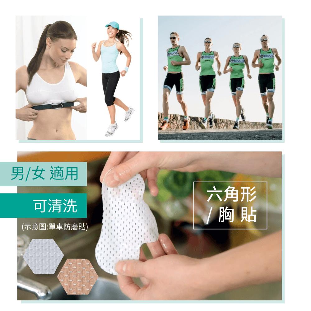 【ReSkin】【防磨專家】矽膠防磨胸貼(白/膚色) 2