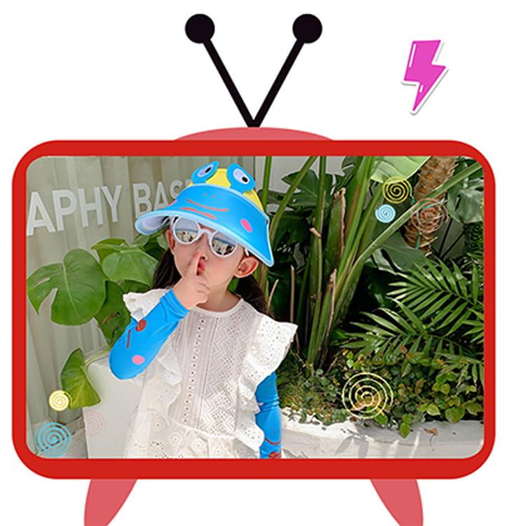 【JAR嚴選】兒童涼感防曬遮陽帽 (送袖套) 14