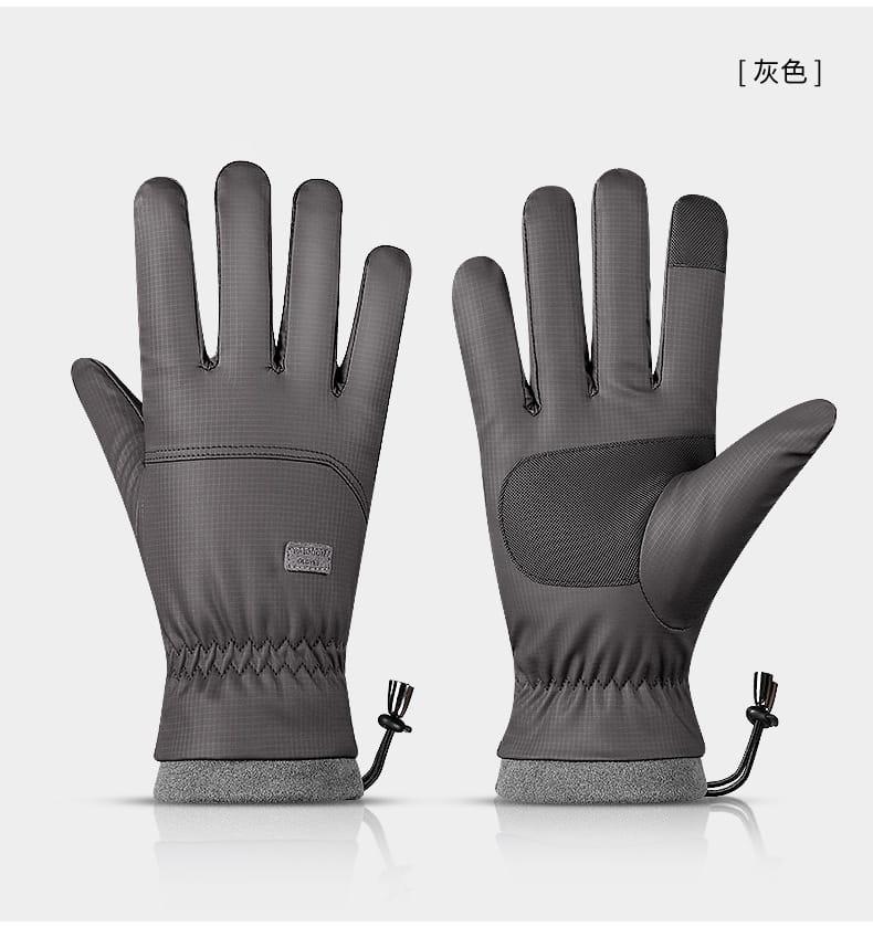 秋冬騎行防風防水加絨保暖手套 11