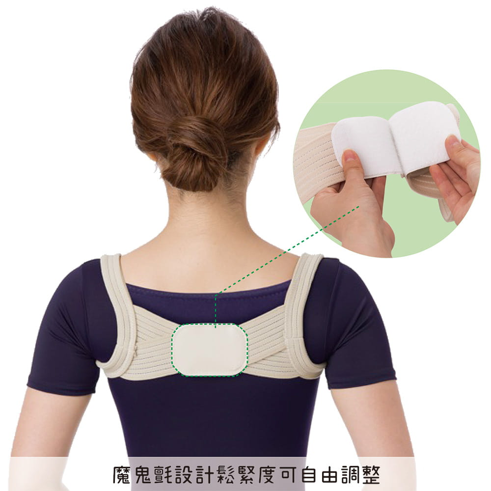 【SUNFAMILY】日本原廠獨家進口 防駝背矯正美姿肩帶(共兩色) 5