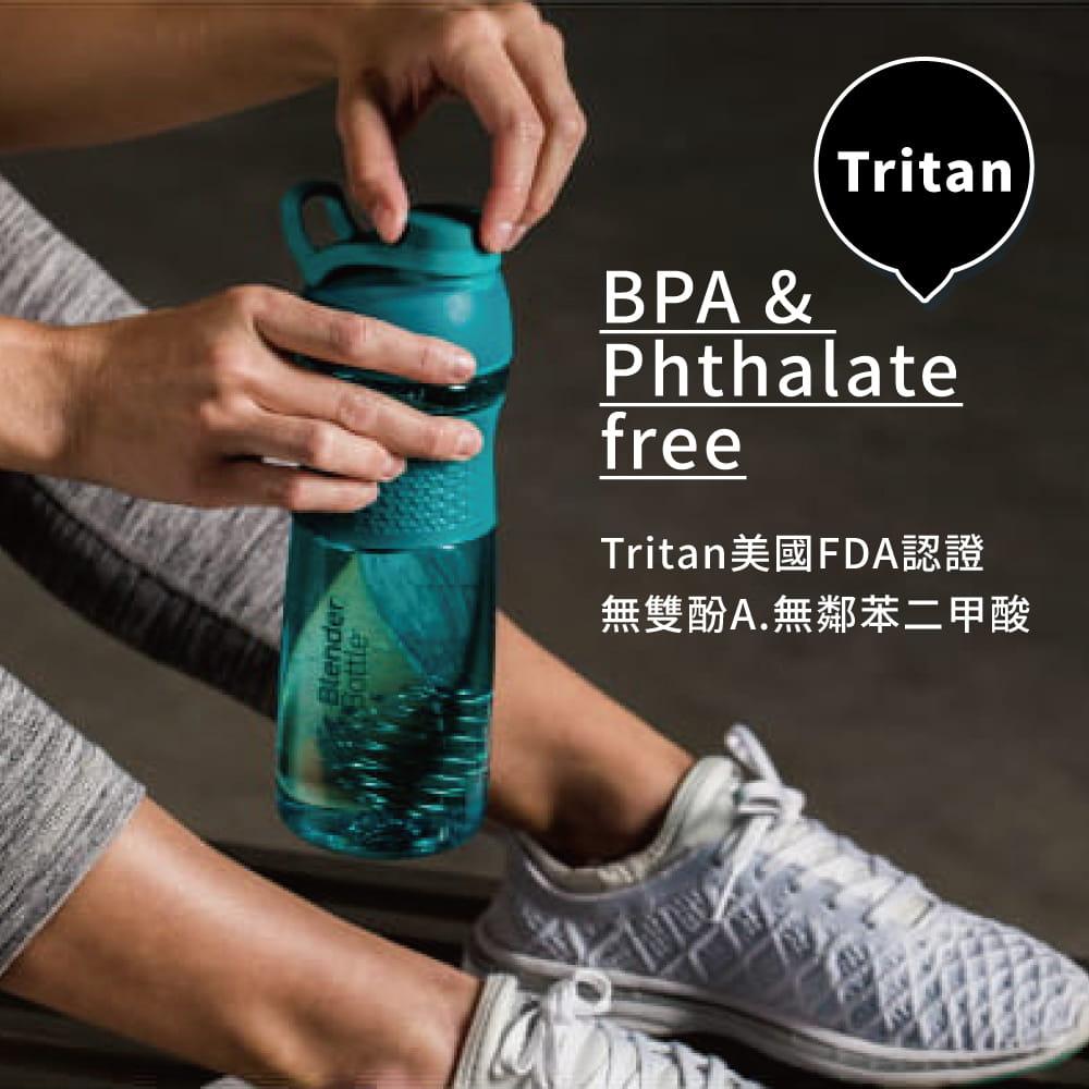 【Blender Bottle】Sportmixer系列-Tritan旋蓋式搖搖杯28oz 5
