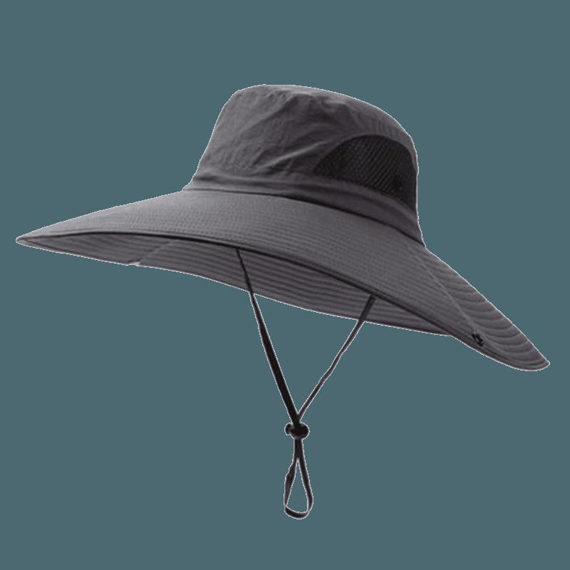 戶外防曬工地釣魚遮陽帽 14
