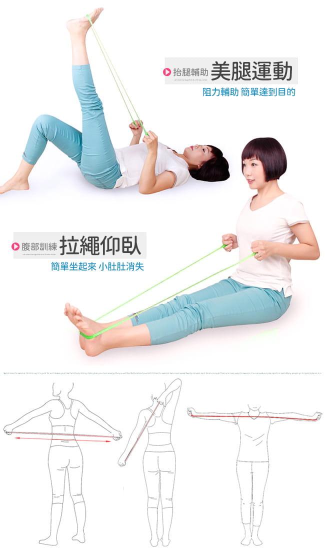 台灣製造 一字款果凍拉力繩   果凍繩彈力繩.拉力帶 7