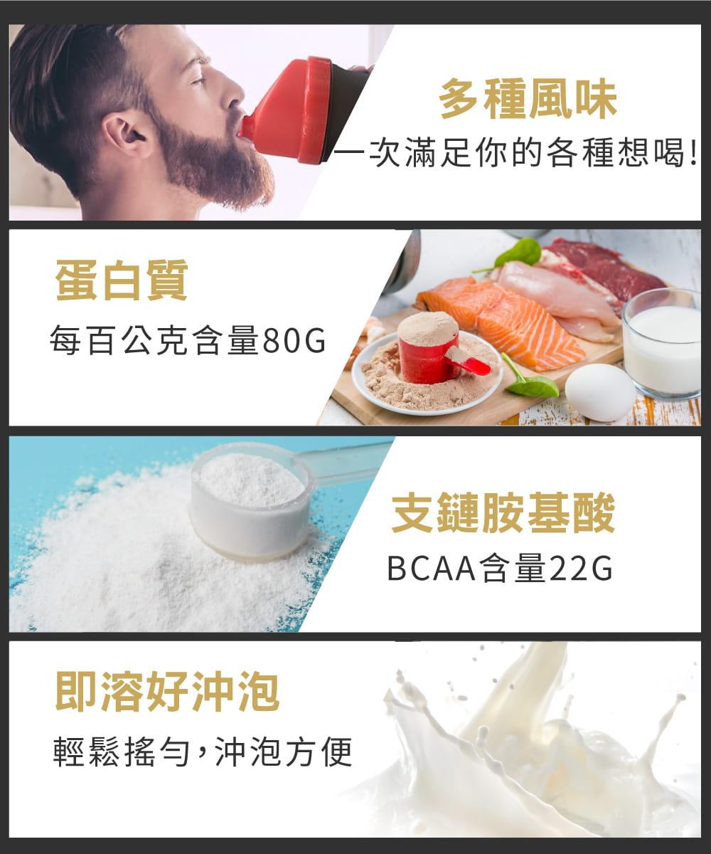 【紅牛聰勁】【紅牛】聰勁即溶乳清蛋白-曼特寧咖啡風味(3公斤) 4