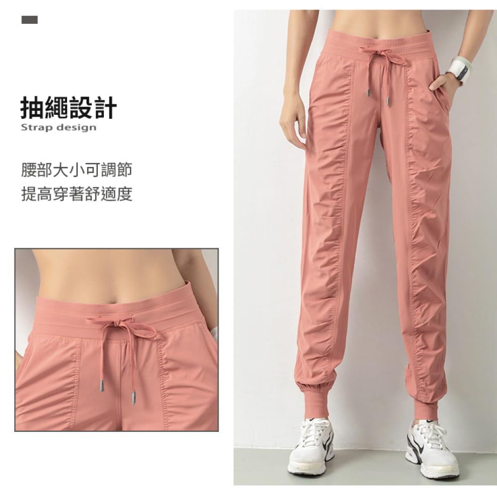輕薄透氣寬鬆機能運動褲 3