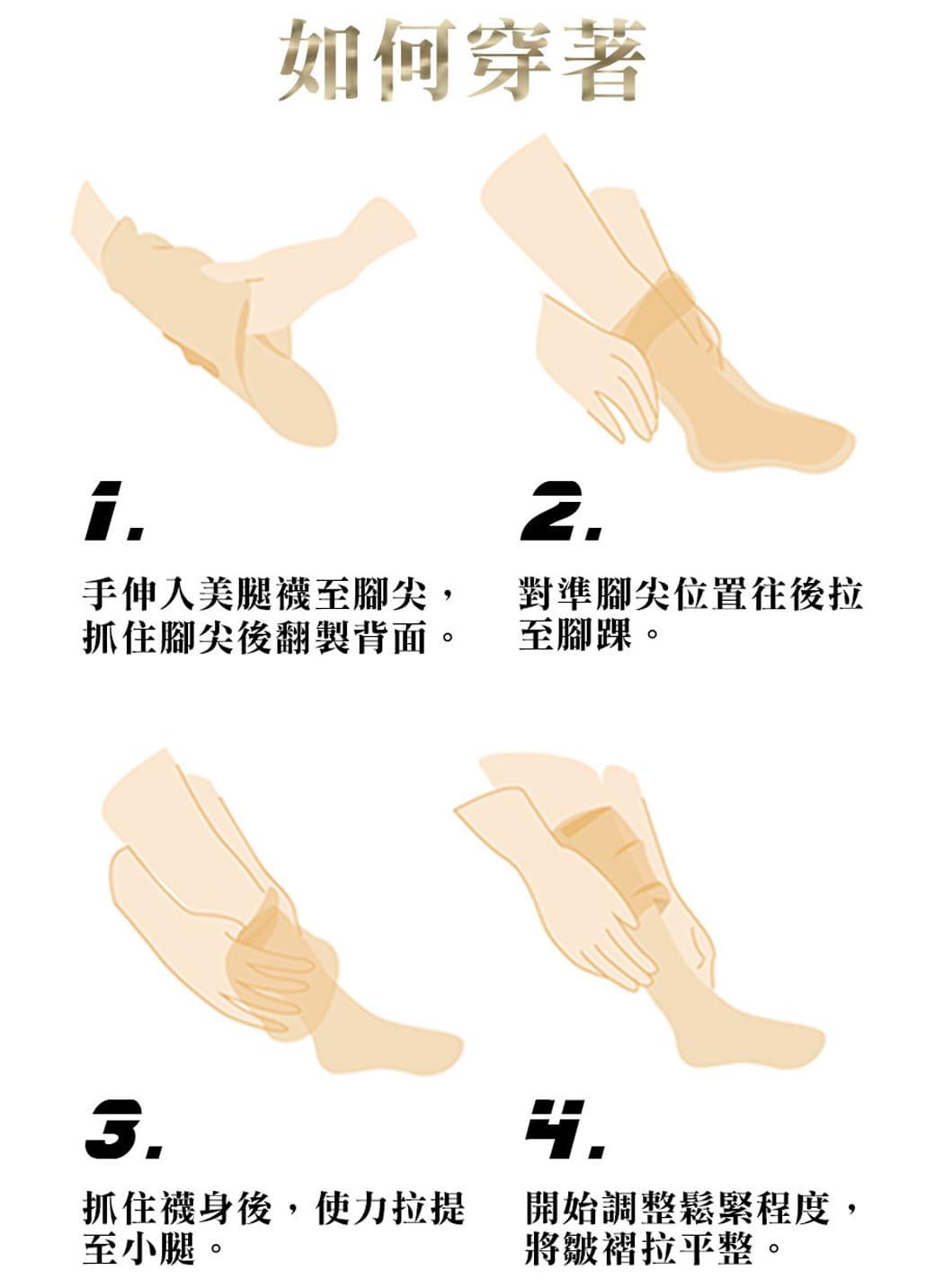【力美特機能襪】彈力機能壓力襪(厚底款) 7