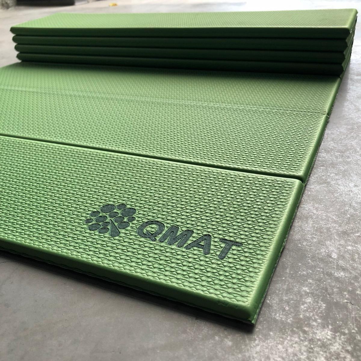 【QMAT】 12折疊瑜珈墊 一般雙色 13
