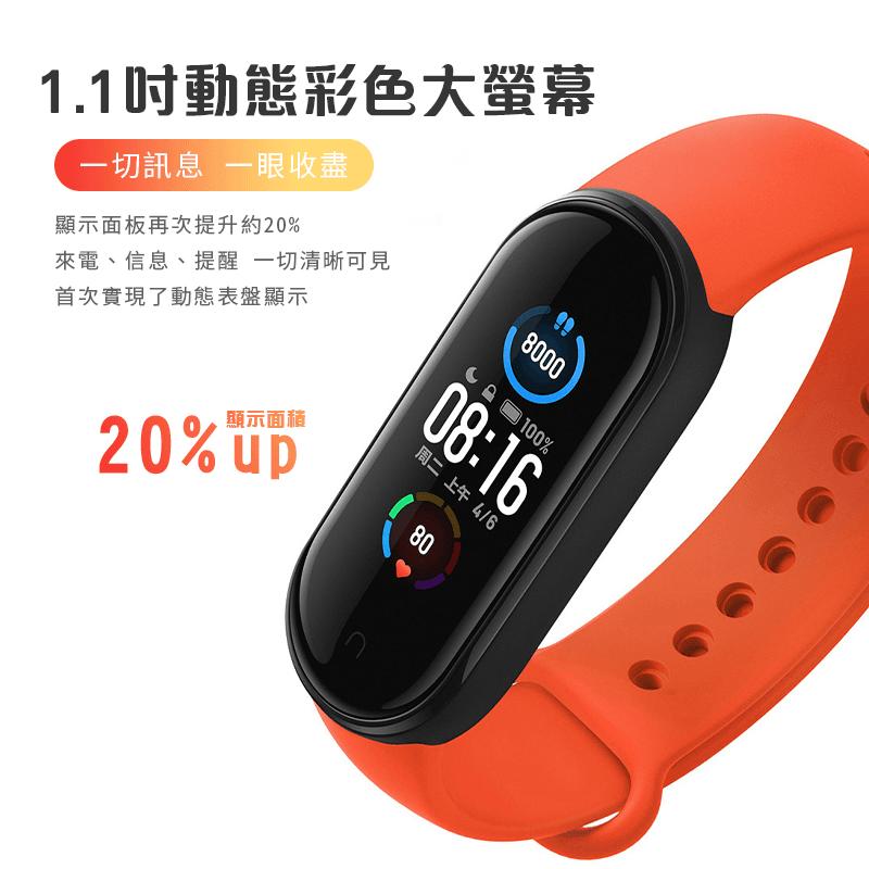 小米手環5 標準版 一年保固 標準版 智能手環 運動手環 1