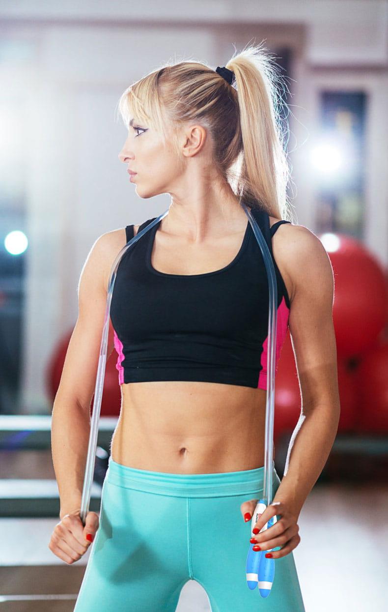 無繩跳繩 健身 減肥 運動 燃脂 考試專用 學生燃脂 電子計數 無線跳繩 居家運動 4