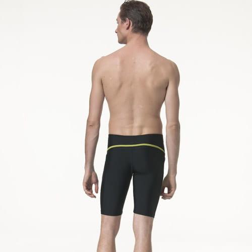 【SARBIS沙兒斯】泡湯 SPA七分泳褲附泳帽B55818 2