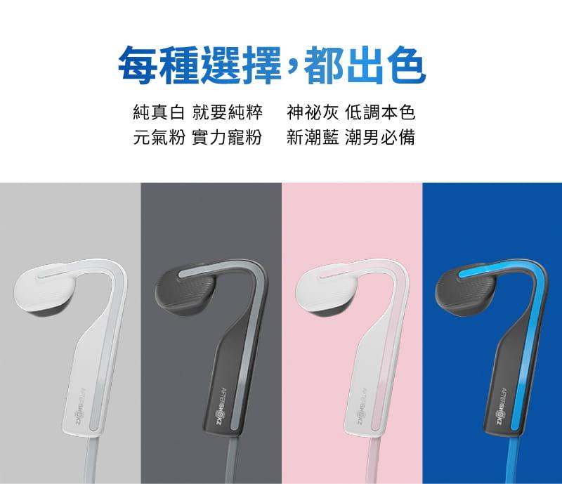 【AFTERSHOKZ】OPENMOVE AS660骨傳導藍牙運動耳機(純真白) 7