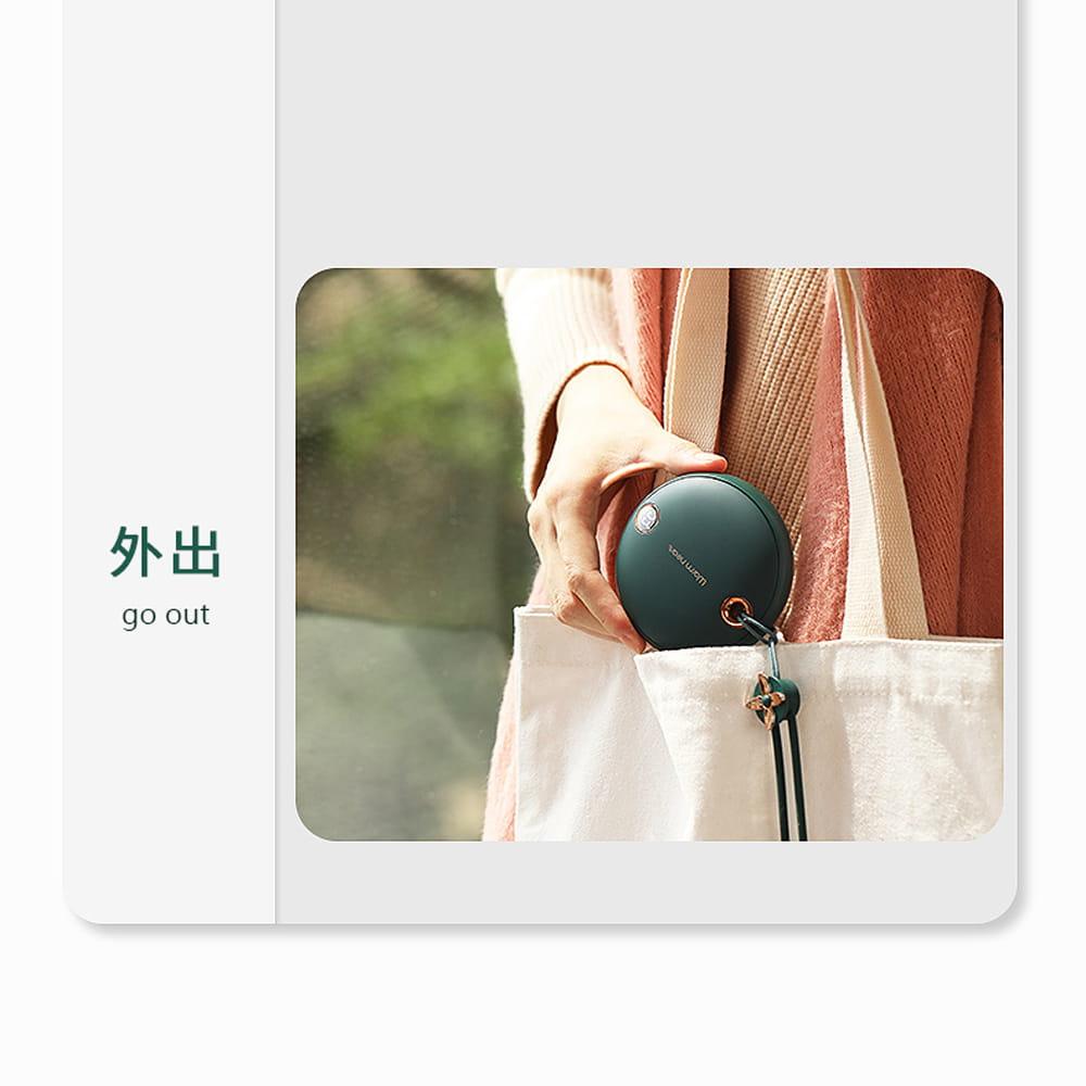 顯示溫控電子暖手寶 便攜式行動電源 暖暖包 10