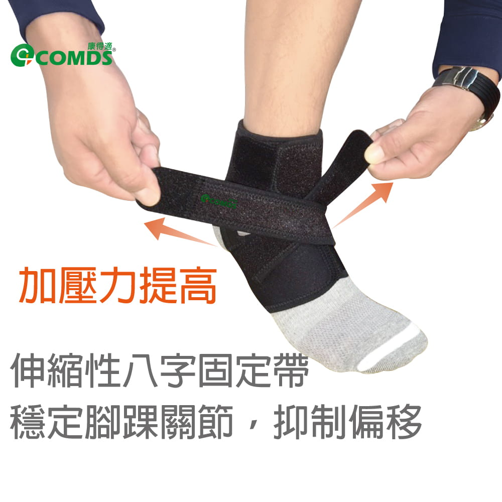 【康得適】CJ-901「阿基里斯」矽膠護踝 4