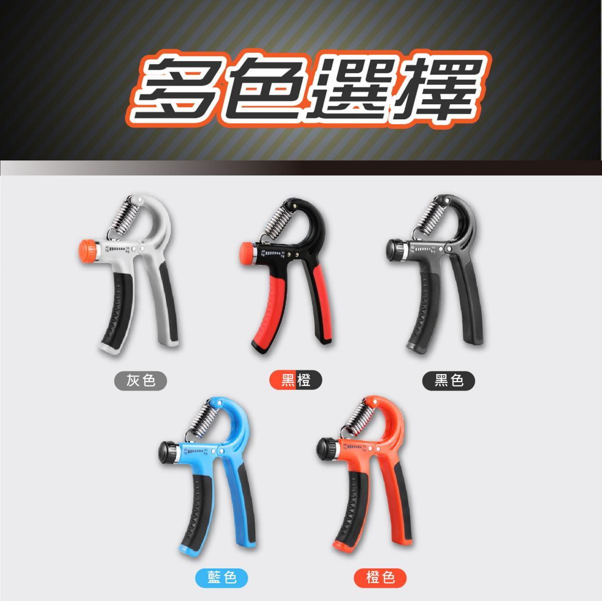 可調節式 握力器10~40KG 握力 腕力 握力訓練器 手腕訓練 腕力器 健身器材 紓壓 增肌 7