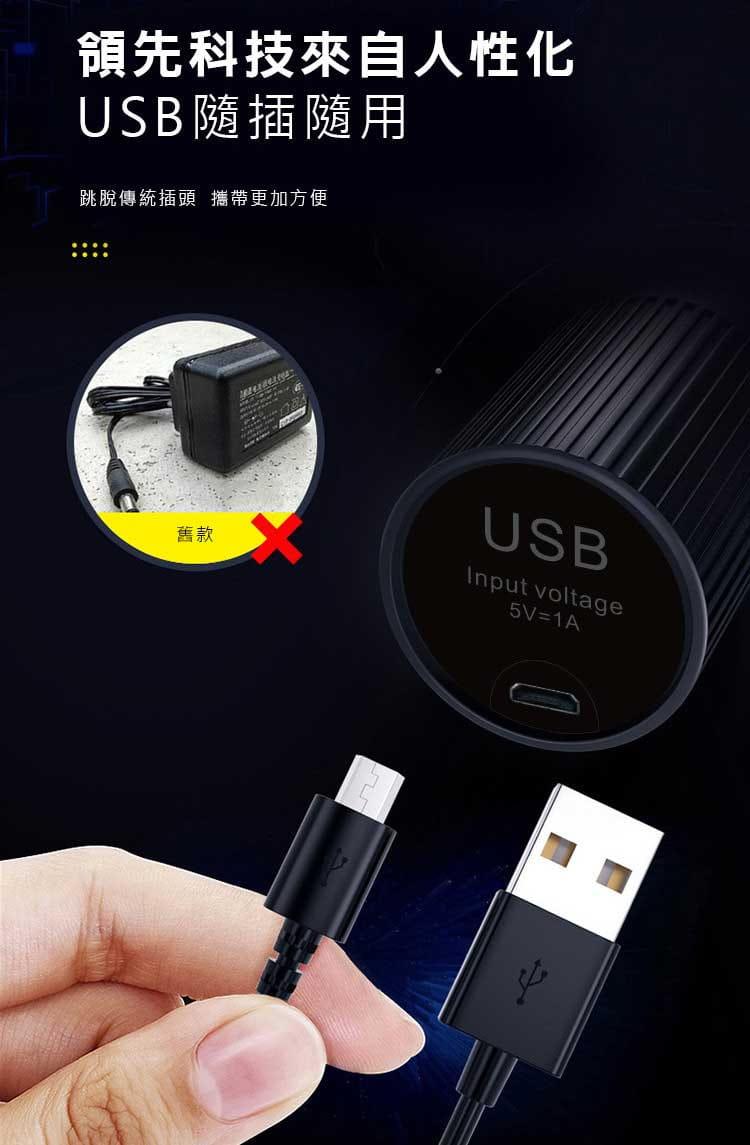 【健身大師】-輕量型USB充電極限筋膜槍(【健身大師】/筋膜槍/按摩槍) 12