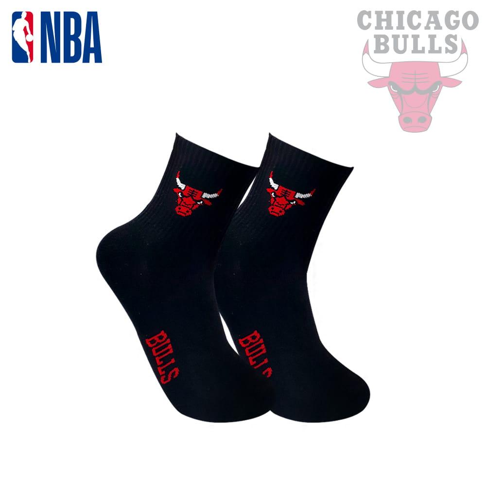【NBA】球隊款緹花中筒襪 5