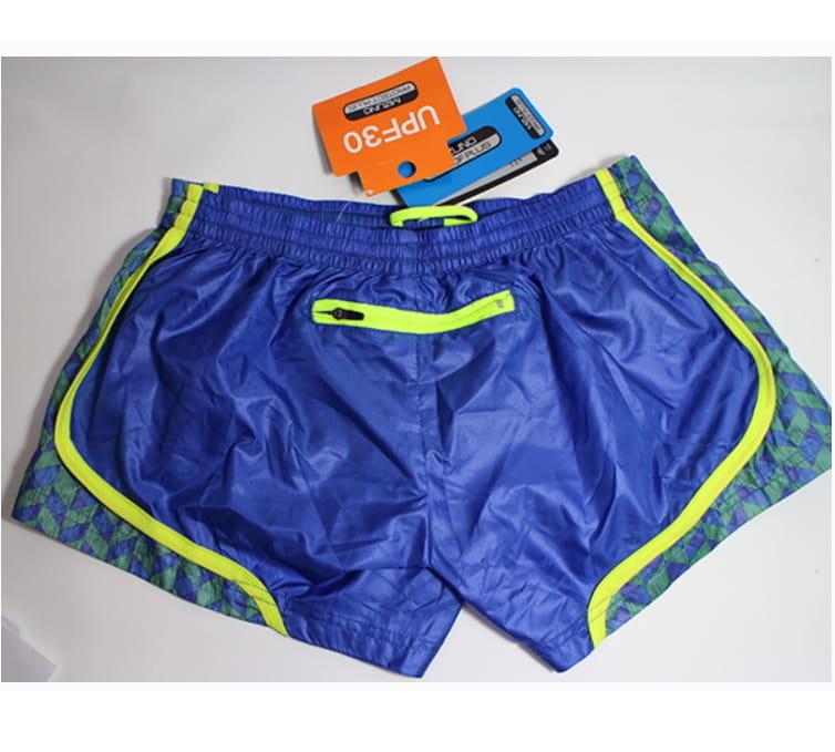 MIZUNO 女路跑 短褲 J2TB570124 藍 4
