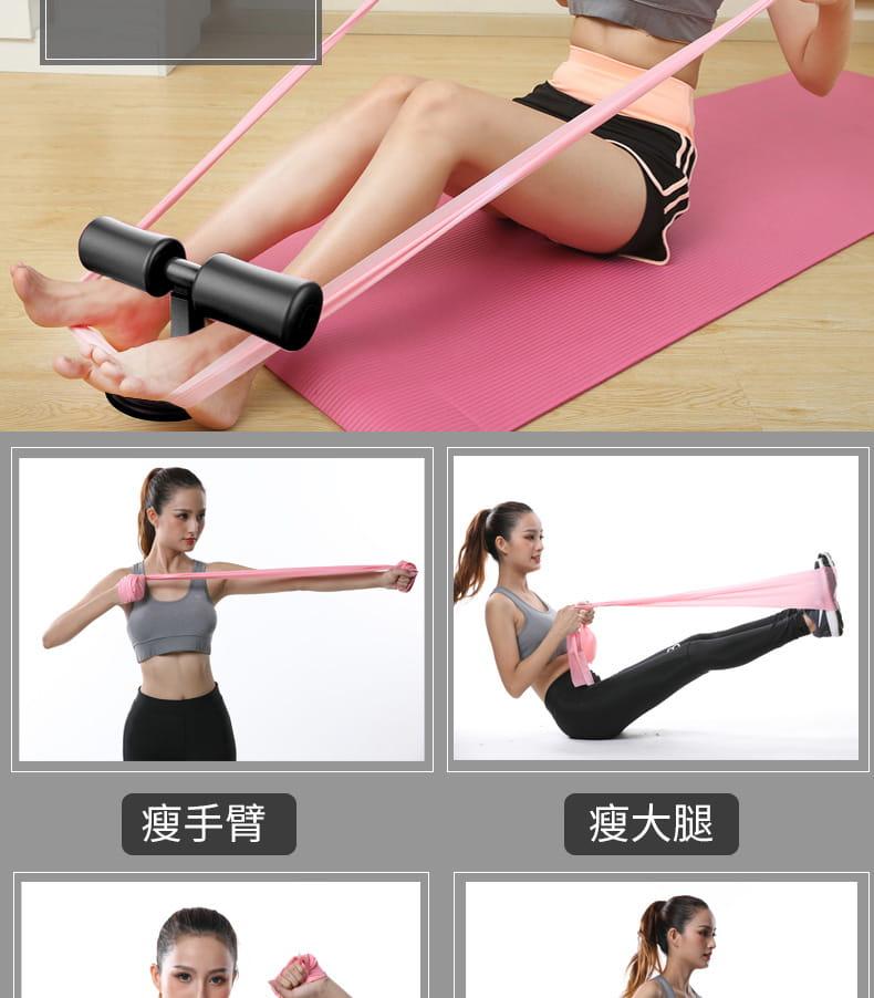 簡易仰臥起坐輔助器卷腹運動壓腳吸盤式吸地固定腳器健身器材家用 3
