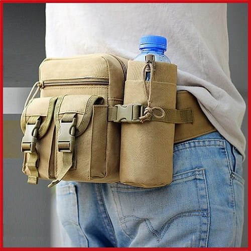 多功能休閒戶外戰術水壺腰包 手機掛包 【AE16162】 0
