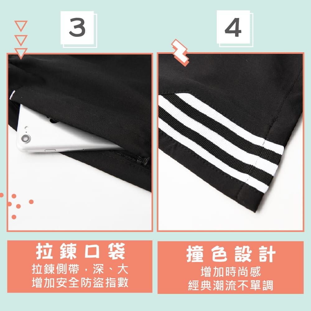 【NEW FORCE】透氣速乾休閒運動男短褲-三色可選 4