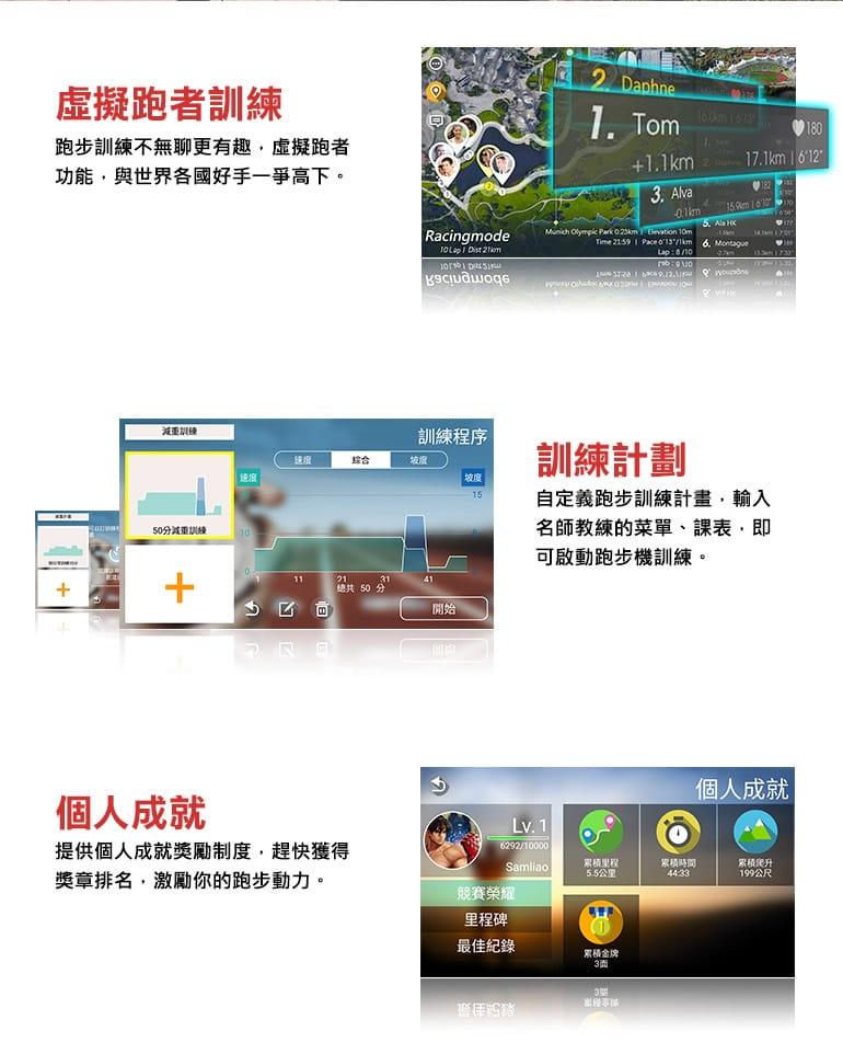 【ATTACUS】AT-100 玩美智慧電動跑步機 4