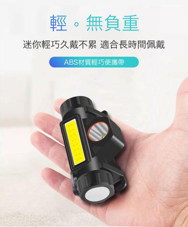 超強光爆亮磁吸兩用頭燈 11