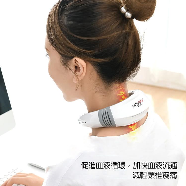 【JAR嚴選】便攜型智能頸椎按摩器 2