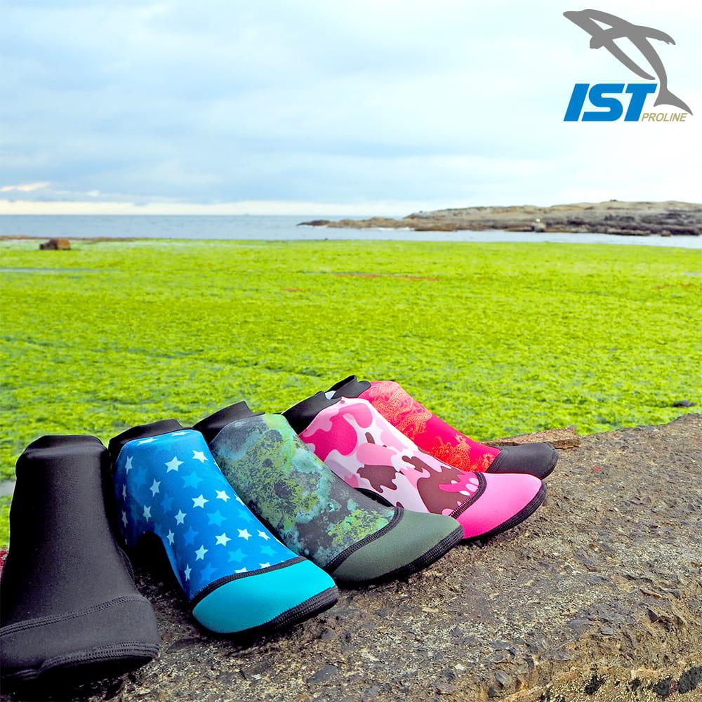 【IST】MIT 止滑防曬短筒沙灘襪 SKB 0