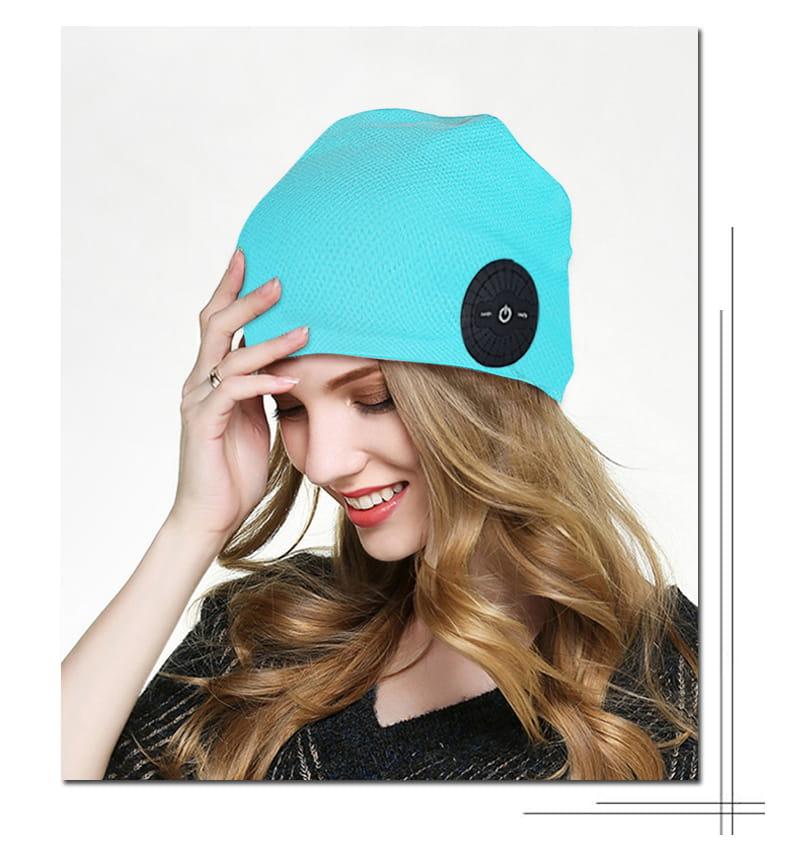 運動頭巾 藍牙耳機帽 11