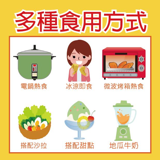 【田食原】-新鮮黃金小冰烤地瓜 300g 冰心地瓜 養生 健康 健身餐 美食 好吃 7