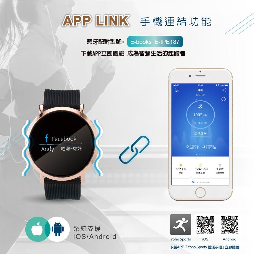 【E-books】V11 藍牙防水高階鋁合金手錶 5