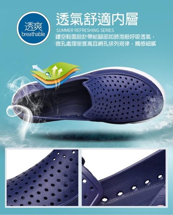 【JAR嚴選】EVA防水透氣輕量洞洞水陸兩用鞋 4