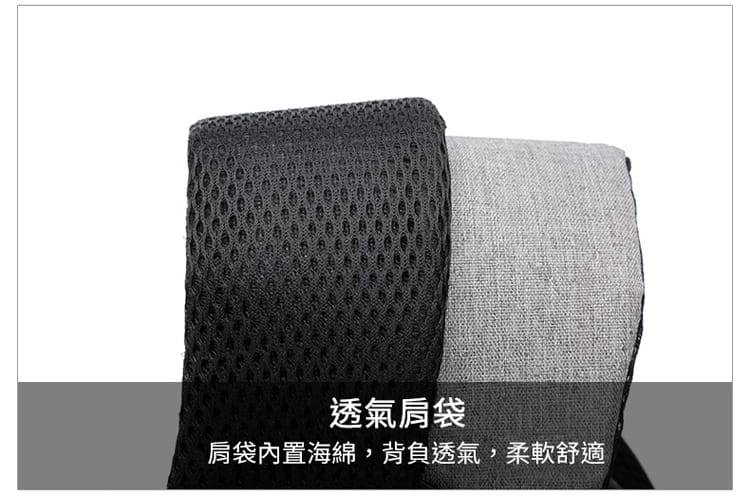 【JAR嚴選】防盜耐磨可充電式多功能雙肩電腦包 7