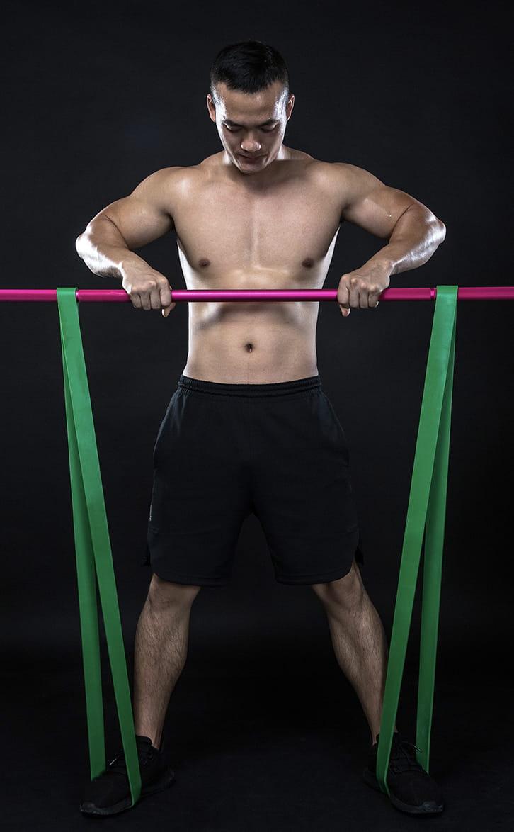 30公斤健身阻力帶【Fitek】 8