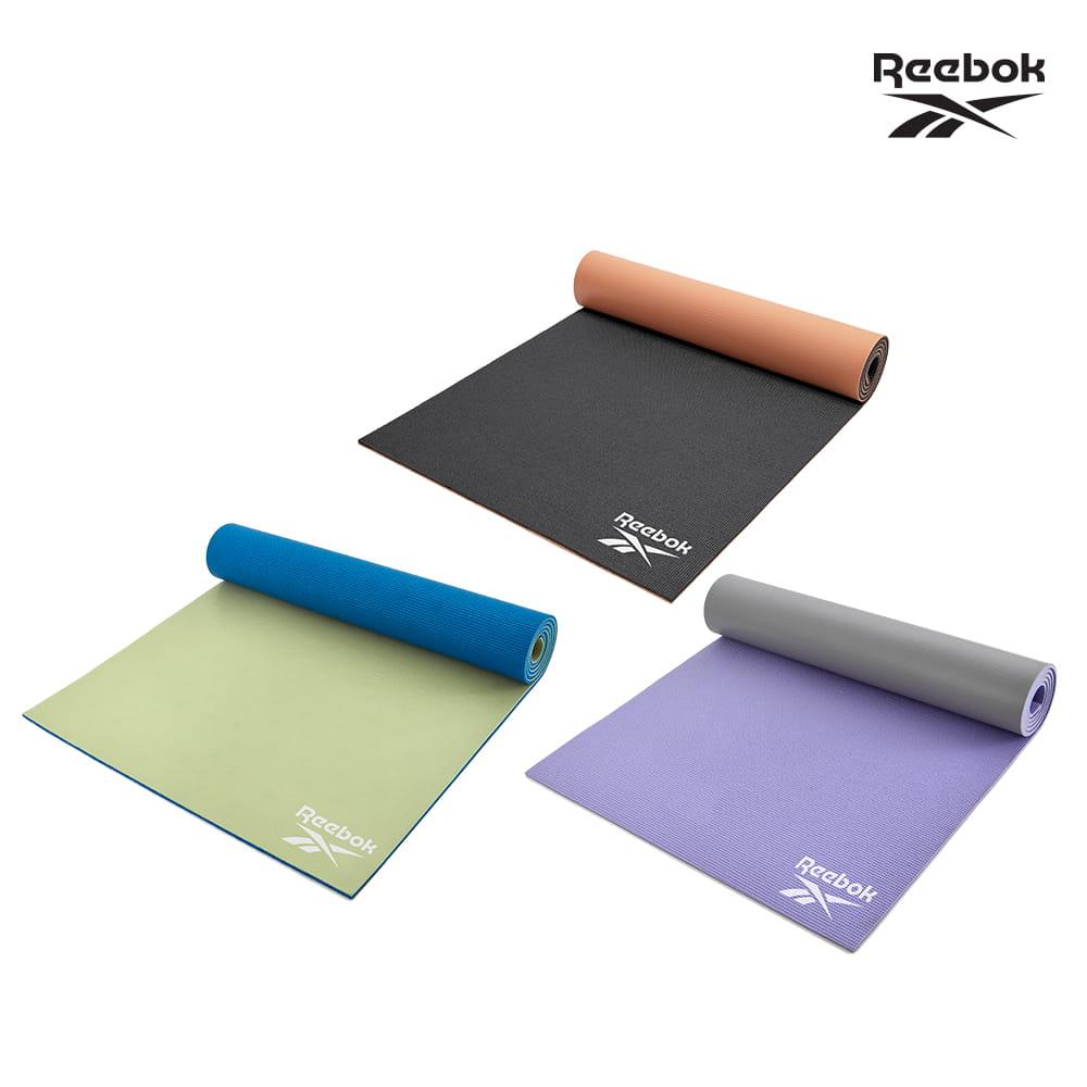 【Reebok】專業訓練雙色瑜珈墊-6mm(共三款) 0