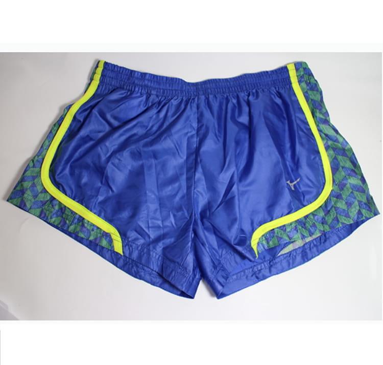MIZUNO 女路跑 短褲 J2TB570124 藍 1