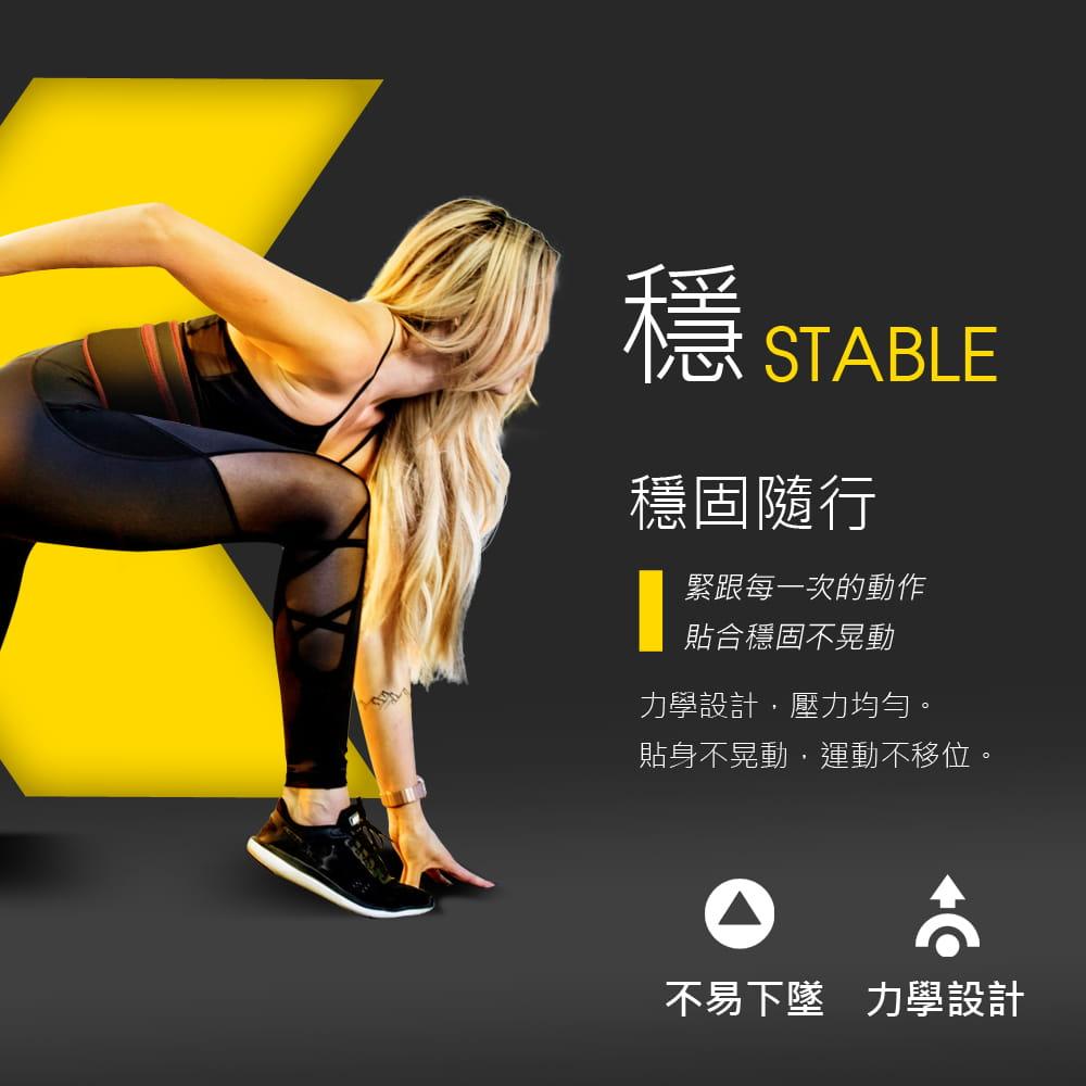 大容量收納登山貼身運動腰帶 |鈦石黑 5
