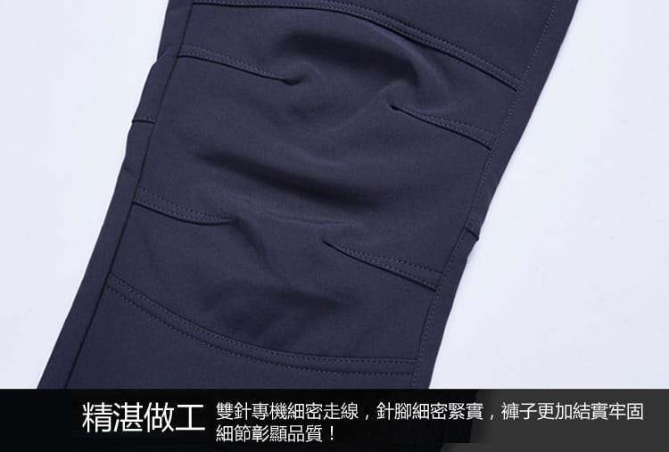 男女款加绒加厚防寒防風#205防水機能褲/加絨褲 13