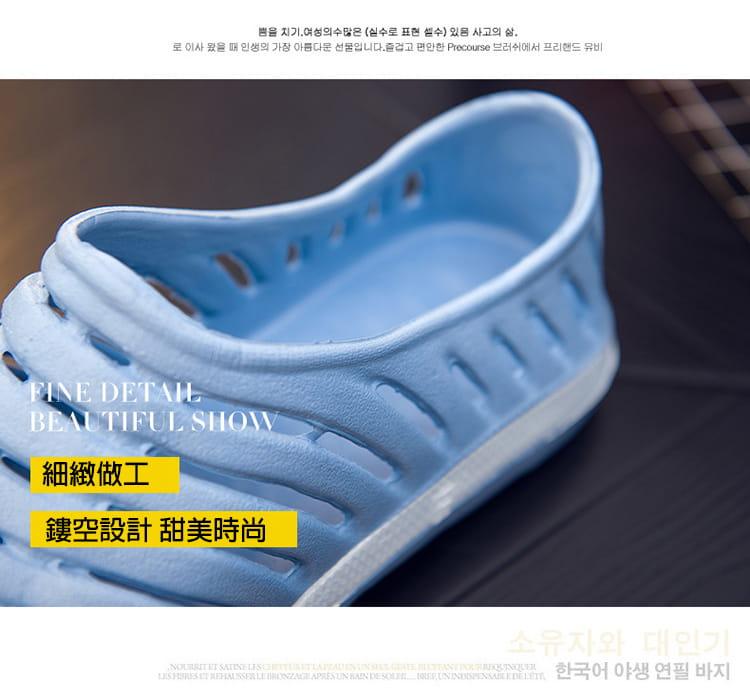 【JAR嚴選】透氣防滑水陸兩用晴雨鞋情侶款 2